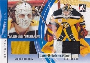 Gerry Cheevers / Tim Thomas (Tandem Threads)