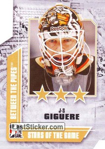 Jean-Sebastien Giguere (Stars of the Game)