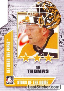 Tim Thomas (Stars of the Game)
