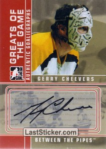 Gerry Cheevers (Greats of the Game)