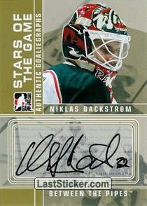 Niklas Backstrom (Stars of the Game)