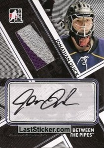 Jonathan Quick (Game-Used Emblem&Auto)