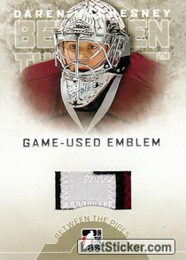 Daren Machesney (Game-Used Emblem)