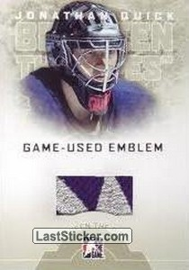 Jonathan Quick (Game-Used Emblem)