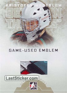 Kristofer Westblom (Game-Used Emblem)