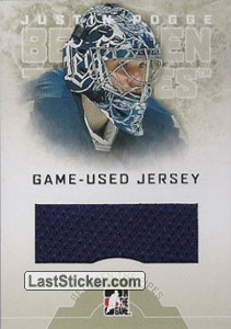 Justin Pogge (Game-Used Jersey)