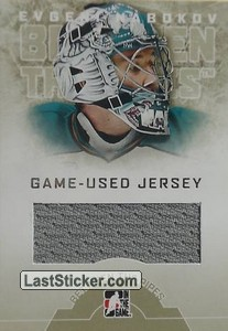 Evgeni Nabokov (Game-Used Jersey)
