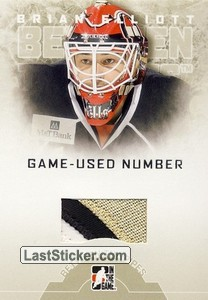 Brian Elliott (Game-Used Number)