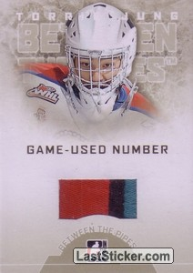 Torrie Jung (Game-Used Number)