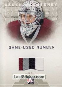 Daren Machesney (Game-Used Number)