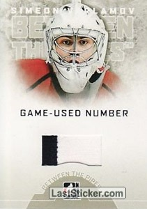 Simeon Varlamov (Game-Used Number)