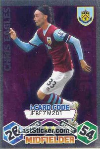 Chris Eagles - iCard (Burnley)