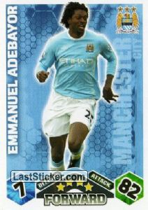 Emmanuel Adebayor (Manchester City)