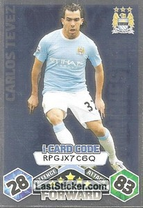 Carlos Tevez - iCard (Manchester City)