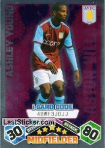 Ashley Young - iCard (Aston Villa)