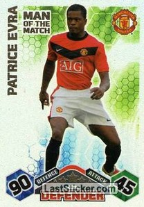 Patrice Evra (Manchester United)