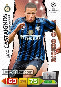 Milano 117 Panini Uefa Champions League 2011 2012 Adrenalyn Xl
