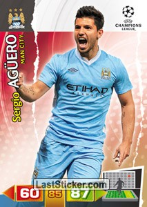 City Fc 141 Panini Uefa Champions League 2011 2012 Adrenalyn Xl
