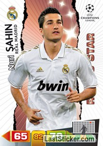 Real Madrid Cf 232 Panini Uefa Champions League 2011 2012 Adrenalyn Xl