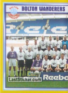 Team Photo (1/2) (Bolton Wanderers)
