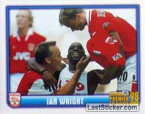 Ian Wright (Arsenal) (Merlin's Collectors' Awards 1998)