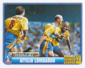 Attilio Lombardo (Chrystal Palace) (Merlin's Collectors' Awards 1998)