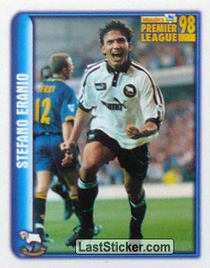 Stefano Eranio (Derby County) (Merlin's Collectors' Awards 1998)