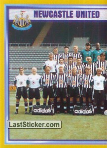 Team Photo (1/2) (Newcastle United)