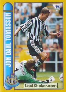 Jon Dahl Tomasson (International Player) (Newcastle United)