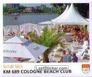 Km 689 Cologne Beach Club (Schäl Sick)