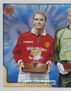 Beckham-Schmeichel-Owen Collectors' Awards Winners (1/2) (Merlin's Collectors' Awards)