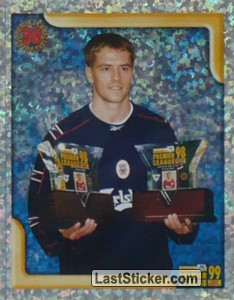 Michael Owen (Player/Forward of the Year 1998) (Merlin's Collectors' Awards)