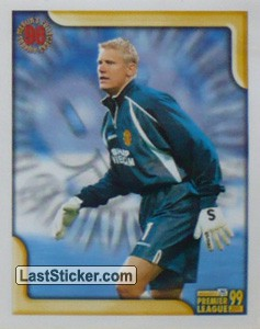 Peter Schmeichel (Goalkeeper of the Year 1998) (Merlin's Collectors' Awards)