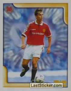 Gary Neville Defender of the Year 1998) (Merlin's Collectors' Awards)