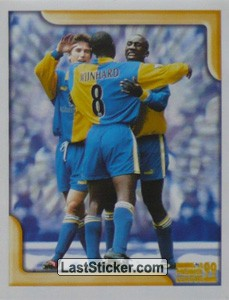 Leeds United players (Game Episode) (Merlin's Collectors' Awards)