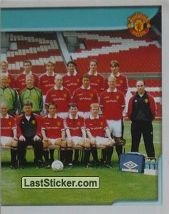 Team Photo (2/2) (Manchester United)