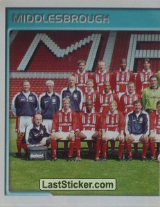 Team Photo (1/2) (Middlesbrough)
