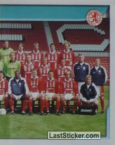Team Photo (2/2) (Middlesbrough)