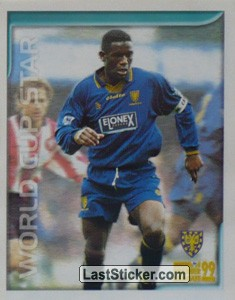 Robbie Earle (World Cup Star) (Wimbledon)