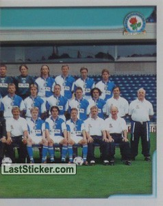 Team Photo (2/2) (Blackburn Rovers)