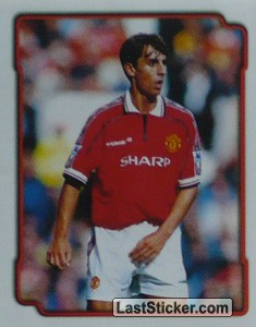 G.Neville (Manchester United) (Poster Ty-Phoo Millenium Super Squad)