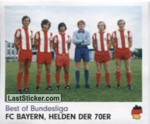 FC Bayern, helden der 70er (Best of Bundesliga)