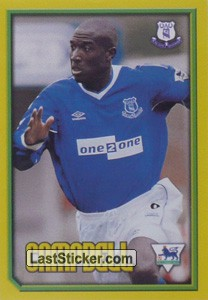 Campbell (Head to Head) (Everton)