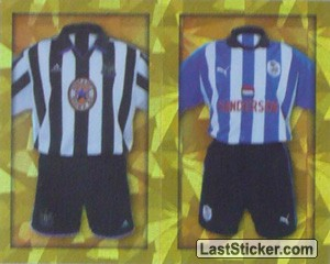 Home Kits Newcastle United/Sheffield Wednesday (a/b) (The Kits)