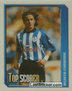 Benito Carbone (Top Scorer) (Sheffield Wednesday)