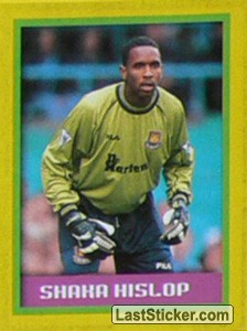 Shaka Hislop (goalkeeper) (Premier League Record Breakers)