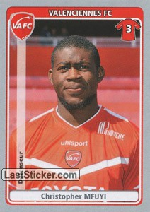 Christopher Mfuyi (Valenciennes FC)