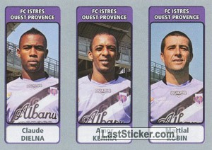 Claude Dielna / Amor Kehiha / Martial Robin (FC Istres Ouest Provence)