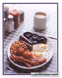 Traditional English Breakfast (Food and Drink)