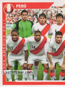 Peru - 1 (team sticker - puzzle) (Grupo C)